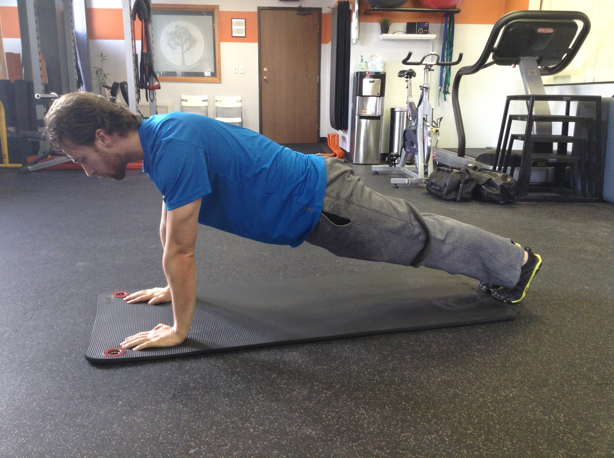 Inner Evolution Fitness, Plank